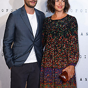 LONDON, ENGLAND - AUGUST 30: Jamie Dornan (L) and Amelia Warner attend the UK premiere of 'Anthropoid' at BFI Southbank on August 30, 2016 in London, England. (Photo by See Li/Picture Capital)
