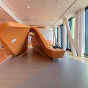 Kunstvoorwerp Prinses Máxima Centrum, kindvriendelijk centrum voor behandeling Oncologie. Nieuwbouwproject Utrecht