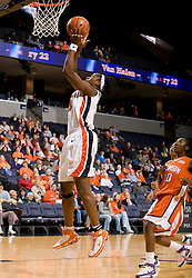 The Virginia Cavaliers women's basketball team defeated the Clemson Tigers 83-71 at the John Paul Jones Arena in Charlottesville, VA on February 21, 2008.