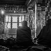 Monks - Tengboche, Everest Region, Nepal