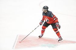 Xavier Bernard (Drummondville Voltigeurs) seen representing Team Canada Red at the 2016 World Under-17 Challenge in Sault Ste. Marie, Ont. Photo by Kenneth Armstrong for CHL Images
