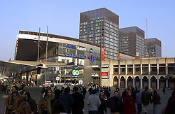 LILLE , FRANCE - FEB-22-2003 - Lille , France has been named the 2004 European Capital of Culture. The EURALILLE Commercial Center. (PHOTO © JOCK FISTICK)..