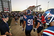 West Monroe Rebels beat the Ruston Bearcats 28-14 at Don Shows Field at Rebel Stadium in West Monroe, La. 6Oct2017