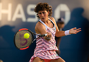 Carla Suarez Navarro of Spain in action during the second round at the 2018 US Open Grand Slam tennis tournament, at Billie Jean King National Tennis Center in Flushing Meadow, New York, USA, August 30th 2018, Photo Rob Prange / SpainProSportsImages / DPPI / ProSportsImages / DPPI