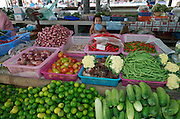Hat Chaweng (beach). The market. Vegetables.