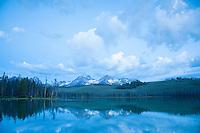 Little Redfish Lake, Idaho.