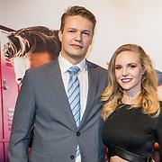 NLD/Hilversum/20171019 - Film premiere  Pestkop, Sietske van der Bijl en partner ......