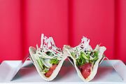 Garlic Sesame Tuna Tacos at CO in Atlanta