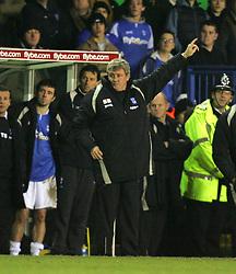 BIRMINGHAM, ENGLAND - MONDAY, JANUARY 2nd, 2006: Birmingham City's manager Steve Bruce during the Premiership match at St Andrews. (Pic by Chris Brunskill/Propaganda)
