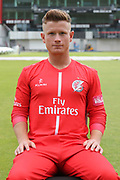 Alex Davies (Wicket Keeper) during the Lancashire County Cricket Club T20 Media Day at the Emirates, Old Trafford, Manchester, United Kingdom on 1 June 2018. Picture by George Franks.