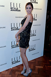 AMBER LE BON at the 17th Elle Style Awards 2014 in association with Warehouse held at One Embankment, 8 Victoria Embankment, London on 18th February 2014.