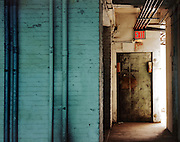 safety escape in old industrial building