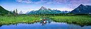 Kayaking stream at Nerka Lake, Wood-Tikchik Park, Alaska