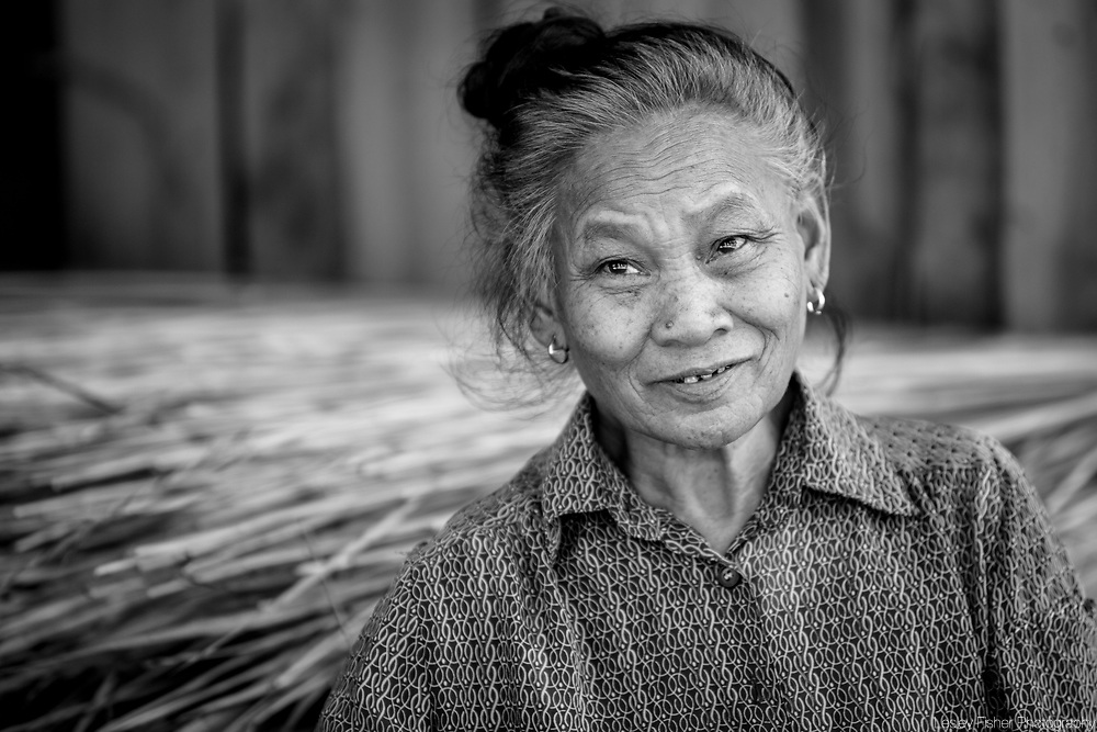 Locals of Ban Baw, an old village located on the banks of the Mekong between Pakbeng and Luang Prabang