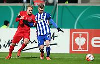 BILDET INNGÅR IKEK I FASTAVTALER. ALL NEDLASTING BLIR FAKTURERT.<br /> <br /> Fotball<br /> Tyskland<br /> Foto: imago/Digitalsport<br /> NORWAY ONLY<br /> <br /> Heidenheim Neuzugang Bård Finne(1.FC Heidenheim) Mitchell Weiser ( Hertha BSC Berlin ), 1.FC Heidenheim vs. Hertha BSC Berlin, Fussball, DFB-Pokal, Viertelfinale, 10.02.2016,
