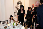 JENNIFER RUBELL; DON RUBELL; 'Engagement' exhibition of work by Jennifer Rubell. Stephen Friedman Gallery. London. 7 February 2011. -DO NOT ARCHIVE-© Copyright Photograph by Dafydd Jones. 248 Clapham Rd. London SW9 0PZ. Tel 0207 820 0771. www.dafjones.com.