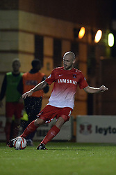 Leyton Orient's Scott Cuthbert   - Photo mandatory by-line: Mitchell Gunn/JMP - Tel: Mobile: 07966 386802 17/09/2013 - SPORT - FOOTBALL -  Matchroom Stadium - London - Leyton Orient v Notts County - Sky Bet League One