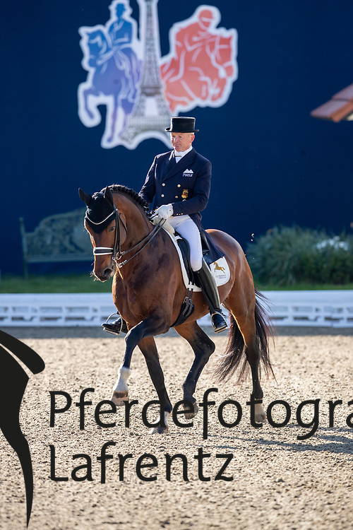SCHMIDT Hubertus (GER), Escolar<br /> Hagen - Horses and Dreams 2019<br /> Grand Prix de Dressage CDI4* Special Tour<br /> 27. April 2019<br /> © www.sportfotos-lafrentz.de/Stefan Lafrentz