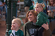 19058Homecoming 2008: Parade..Erin Deskins 01' with daughters Ashleigh & Morgan