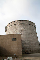 The James Joyce Martello tower museum in Sandycove Dublin Ireland
