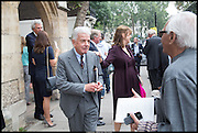 NICKY HASLAM, Memorial service for Mark Shand.  . St. Paul's Knightsbridge. September 11 2014.
