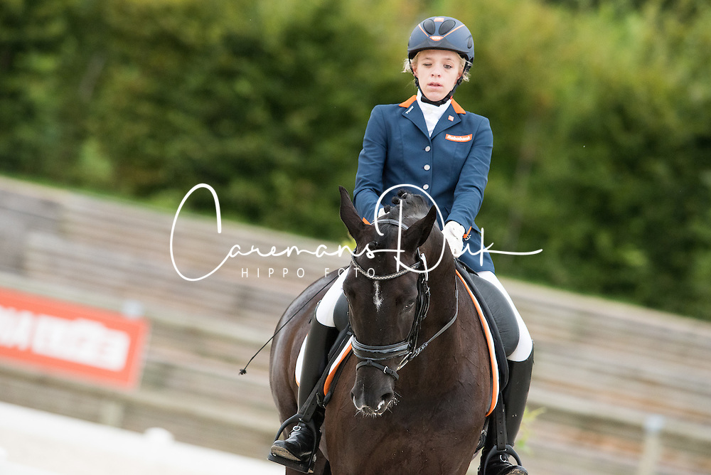 Krijnsen Lotte, (NED), Rosenstolz<br /> Grade III Team Test<br /> Para-Dressage FEI European Championships Deauville 2015<br /> &copy; Hippo Foto - Jon Stroud<br /> 18/09/15