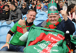 Paul and John Durcan at McHale park on sunday last.<br />