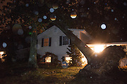 (photo by Matt Roth).Monday, October 29, 2012.Assignment ID: 10133655A..A tree fell on the home of Mike and Kelle Barry's home in Annapolis, Maryland around 4pm Monday, October 29, 2012.