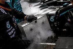 September 1, 2019, Spa-Francorchamps, Belgium: Motorsports: FIA Formula One World Championship 2019, Grand Prix of Belgium, ..Mechanic of Mercedes AMG Petronas Motorsport  (Credit Image: © Hoch Zwei via ZUMA Wire)