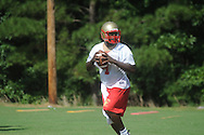 Lafayette High School begins football practice in Oxford, Miss. on Monday, July 26, 2010.