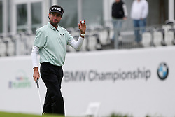 September 10, 2018 - Newtown Square, Pennsylvania, United States - Bubba Watson waves to the crowd after putting the 16th green during the final round of the 2018 BMW Championship. (Credit Image: © Debby Wong/ZUMA Wire)