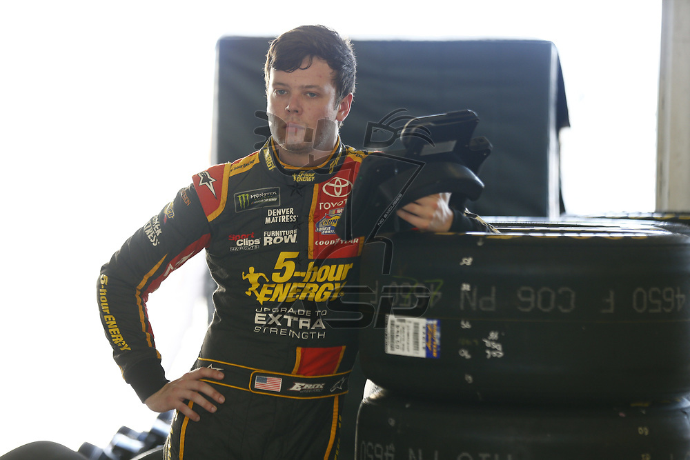 November 17, 2017 - Homestead, Florida, USA: Erik Jones (77) hangs out n the garage prior to practice for Ford EcoBoost 400 at Homestead-Miami Speedway in Homestead, Florida.