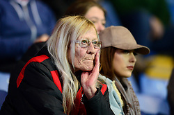 Fleetwood Town fan cuts a dejected figure  - Mandatory by-line: Dougie Allward/JMP - 05/04/2017 - FOOTBALL - Kassam Stadium - Oxford, England - Oxford United v Fleetwood Town - Sky Bet League One