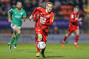 Leyton Orient midfielder James Brophy (16) during the EFL Sky Bet League 2 match between Leyton Orient and Scunthorpe United at the Matchroom Stadium, London, England on 16 November 2019.