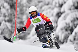 LIU Sitong, LW12-2, CHN, Women's Slalom at the WPAS_2019 Alpine Skiing World Championships, Kranjska Gora, Slovenia