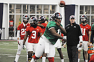 Ole Miss' spring practice, in Oxford, Miss. on Tuesday, March 4, 2014.