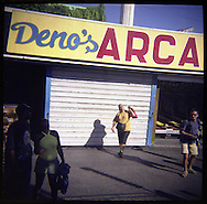 Deno's Arcade in Coney Island.