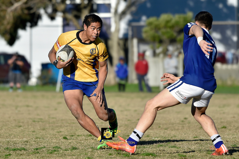 College Rugby - St. Patrick's College Wellington v Rongotai College at Evans Bay, Wellington, New Zealand on Saturday 2 July 2016. <br /> Photo by Masanori Udagawa. <br /> www.photowellington.photoshelter.com.
