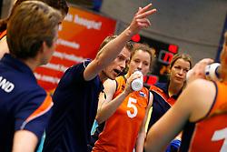 20140425 NED: Jong Oranje Vrouwen - Montenegro, Arnhem <br /> Matt van Wezel headcoach The Netherlands<br /> ©2014-FotoHoogendoorn.nl / Pim Waslander