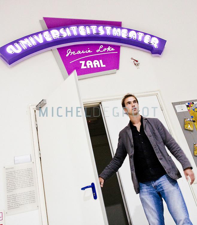 Job Kwakman, Letteren op June 29, 2007 in Groningen, The Netherlands. (Photo by Michel de Groot)