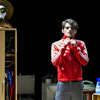 Touch by Vicky Jones,<br /> Edward Bluemel as Paddy,<br /> Directed by Vicky Jones,<br /> Soho Theatre, London.<br /> 11 July 2017.<br /> 
