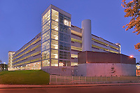 Bethesda Maryland National Institute of Health parking garage architectural image by Jeffrey Sauers of Commercial Photographics