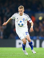 Vitaliy Buyalskyy of Dynamo Kyiv during the UEFA Champions League match at Stamford Bridge, London<br /> Picture by Alan Stanford/Focus Images Ltd +44 7915 056117<br /> 04/11/2015