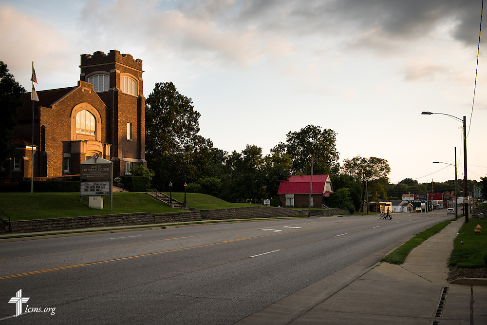Exterior photograph of Trinity Lutheran Church on Wednesday, July 15, 2015, in Danville, Ill. LCMS Communications/Erik M. Lunsford