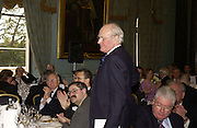 SIR MENZIES CAMPBELLL. Association awards, 2005. Institute of Directors. Pall Mall. London. 29 November 2005. ONE TIME USE ONLY - DO NOT ARCHIVE  © Copyright Photograph by Dafydd Jones 66 Stockwell Park Rd. London SW9 0DA Tel 020 7733 0108 www.dafjones.com