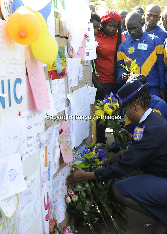 File Photo- Nelson Mandela Dead: Former South African President Has Died At 95. The former South African president had been suffering from a recurring lung infection, Thursday December 05, 2013.<br />