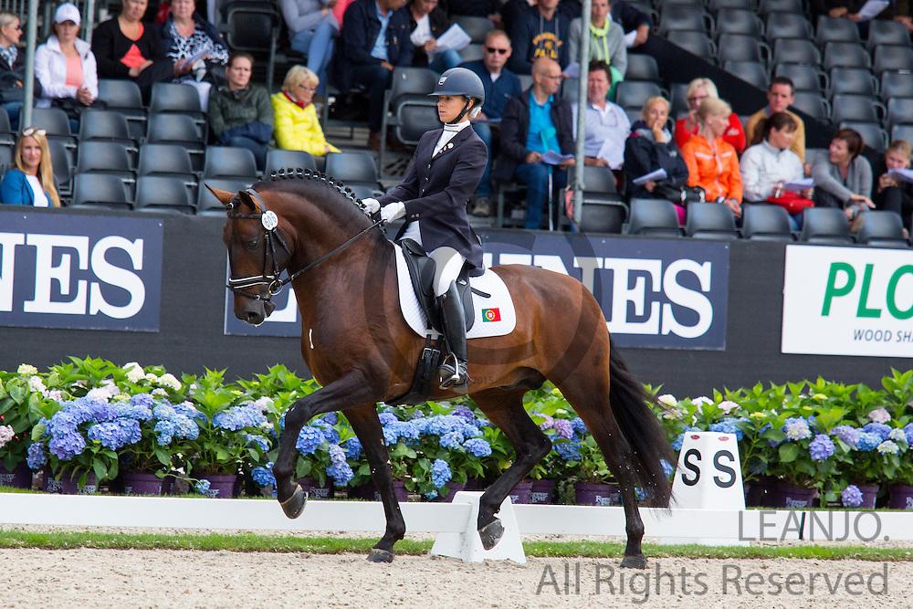 Maria Caetano - Fenix de Tineo<br /> Longines FEI/WBFSH World Breeding Dressage Championships for Young Horses 2016<br /> &copy; DigiShots