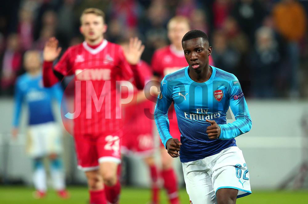 Edward Nketiah of Arsenal - Mandatory by-line: Robbie Stephenson/JMP - 23/11/2017 - FOOTBALL - RheinEnergieSTADION - Cologne,  - Cologne v Arsenal - UEFA Europa League Group H