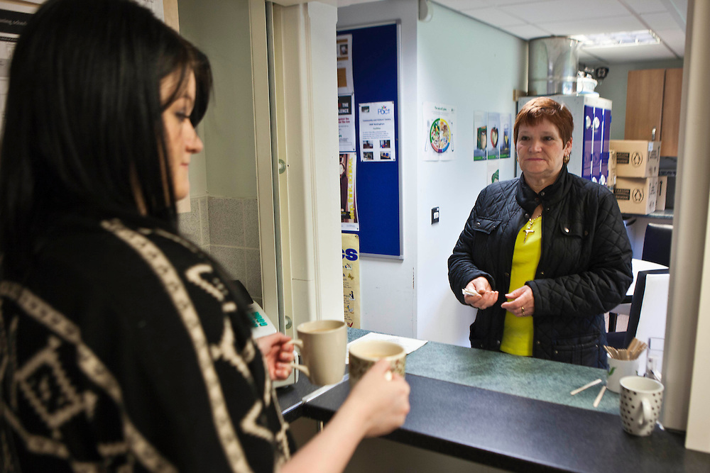 Tea and coffee are available throguh the visitors centre cafe. HMP Nottingham visitors centre run by the Prison Advice and Care Trust, PACT.