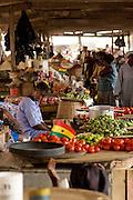 Market scene in Accra, Ghana.